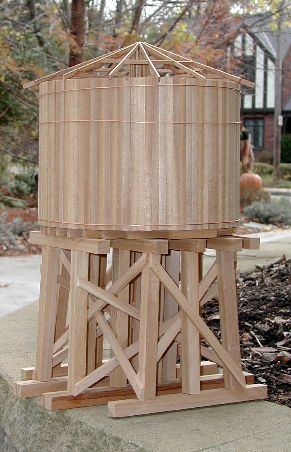 Garden Railway Water Tower Project